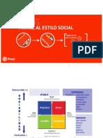 Matriz Estilo Social - Venta Exitosa