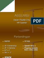 ASSUMSI