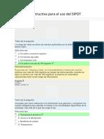Curso Guía Instructiva Para El Uso Del SIPOT