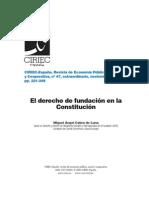 El Derecho de Fundacion-España