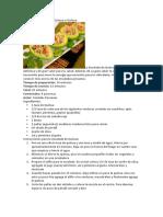 Receta de Ensalada de Quinua o Quinoa