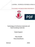 Refractory and Thermal Insulating Ceramics Materials