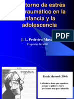 Trastorno de Estres Postraumatico en La Infancia y La Adolescencia