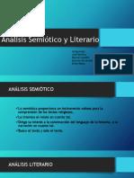 Análisis Semiótico y Literario