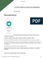 Neumoperitoneo _