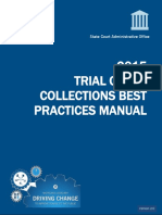 Collections Best Practices Manual