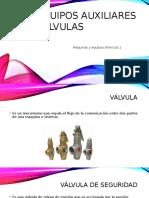 Equipos Auxiliares válvulas