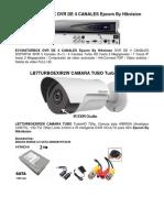 Ev1004turbox Dvr de 4 Canales Epcom by Hikvision