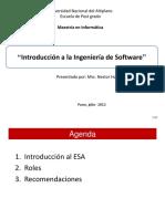 Is04 Esa Roles