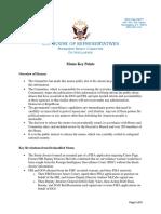 HPSCI Memo Key Points