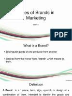 Unit 1 Brand Management 1