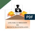 Guía Práctica Para La Redacción Del Proyecto de Investigación Copy