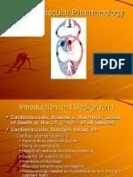 1Cardiovascular Pharmacology
