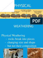 Physical and Chemical Weathering 23