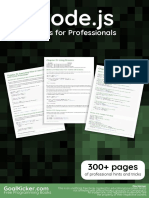 Node.js Notes for Professionals