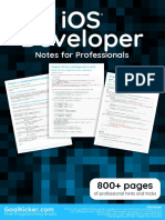 iOS Notes for Professionals