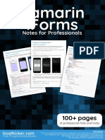 Xamarin.Forms Notes for Professionals