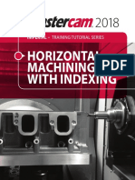 Mastercam2018 Indexing Training Tutorial