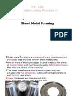 L16-Sheet Metal Forming