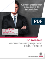 Guía Berau Iso 9001-2015