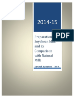 254687378 Preparation of Soyabean Milk and Its Comparison With Natural Milk 2