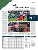 La Provincia Di Cremona 04-02-2018 - Polpacci e Nuvole
