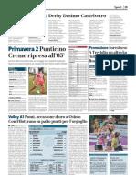 La Provincia Di Cremona 04-02-2018 - Primavera 2