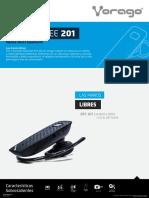 Ficha Manos Libres Con Bluetooth Vorago BTE 201
