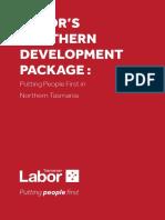 Labor's Northern Development Package