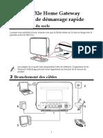 Guide d'Utilisation Rapide HG532e
