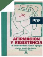 1992 Afirmación y Resistencia 2ª Ed 1993