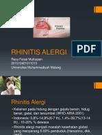 Penyuluhan Rhinitis Alergi