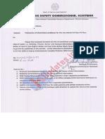 Class-IV Recruitment under Revenue Department, J&K Govt