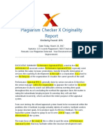 Plagiarism - Report Vishal.doc