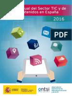 Informe Anual Del Sector TIC y Contenidos 2016_0