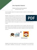 Exemplo de Uma pesquisa Hipotetico dedutiva.docx