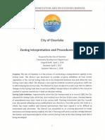 Zoning Interpretation and Procedures Manual 02-06-18