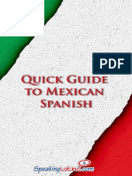 Quick Guide to Mexican Spanish Preview 10212013