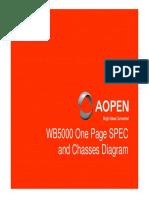 SPEC WB5000 Ver 1.0