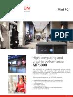 Specsheet MP5000