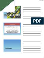 Fisioterapia Patologia reumatologica
