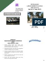 Buku Program Merentas Desa 2010