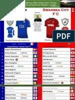 Premier League 180203 round 26 Leicester - Swansea 1-1