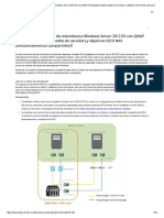 Cómo Crear Un Clúster de Redundancia Windows Server 2012 R2 Con QNAP Virtualization Station