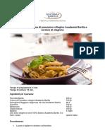 Pasta Con Crema Di Pomodorini Ciliegino e Verdure Di Stagione