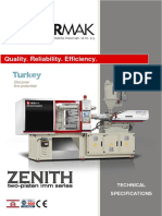 Zenith Series Tech Specs