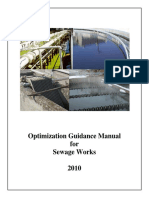 SWI Optimization Guidance Manual for Sewage Works 2010