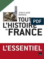 Jean-Claude Barreau - Toute l'Histoire de France - eBook-Gratuit.co
