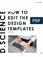 How to Edit the Templates- Creative Market