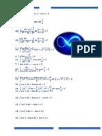 Formulario de Integrales (Matefacil)